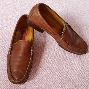 Cole Haan Country Brown Leather Loafer Shoes